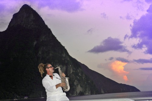 Rob Z Taylor is one of Saint Lucia's foremost jazz musicians