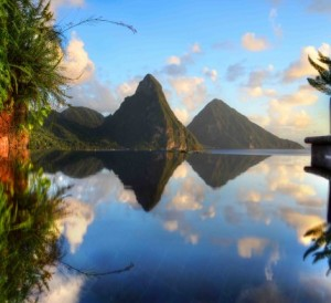 Jade Mountain is a celebration of Saint Lucia's stunning scenic beauty