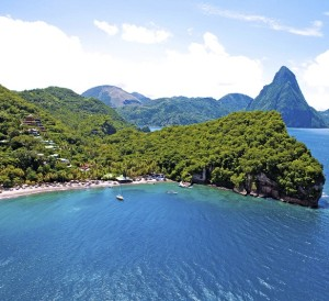 Scuba St.Lucia is part of Anse Chastanet Resort near Soufriere, Saint Lucia